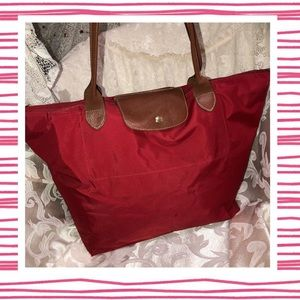 Longchamp X-Large Le Pliage Shopping Bag Tote USED